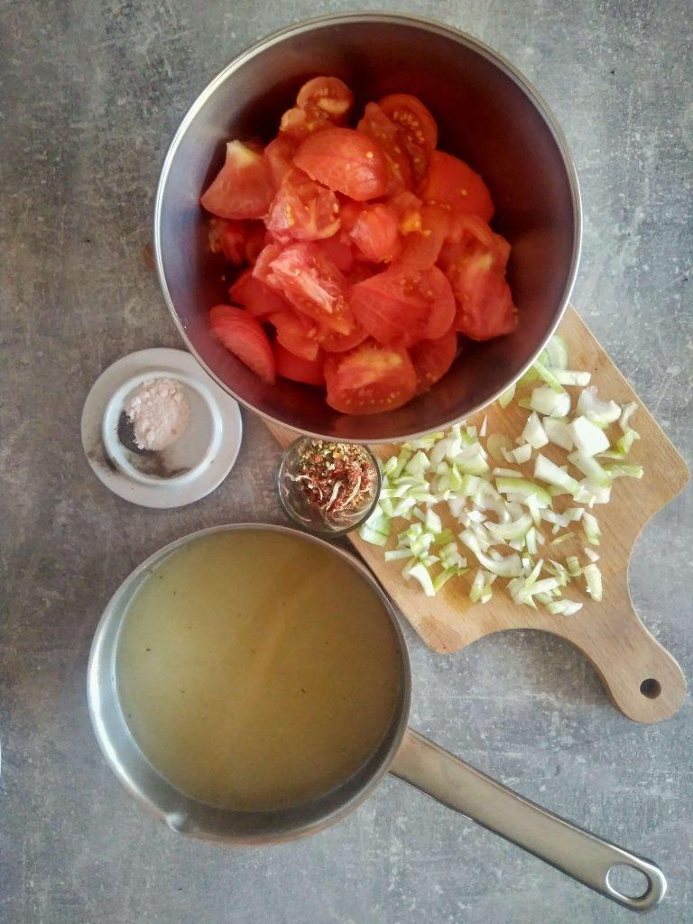 pomidor skladniki przed kompresja